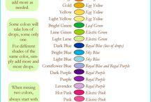 Colouring tutorial