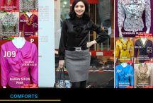 Jual Busana Kerja Wanita Murah / Hubungi yang Jual Busana Kerja wanita murah yang cantik, modis dan elegan ini di:  PinBB : 7d20d94c