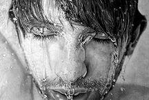 dibujos en agua