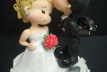 sposi fimo