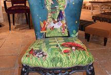 chaises renovées