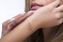 Largentolab Bracelets / Bracelets, women jewelry, gemstone bracelets, solid gold, elegant jewelry, rose gold, solid gold, semiprecious stones, precious stones