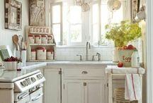 """Inspiration """"Cuisine"""" (kitchen décoration ideas) / Recherche  d'idées pour rénover la cuisine"""