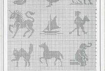 nappe rectangulaire aux animaux