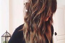 Mes couleurs de cheveux