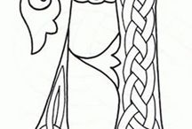 Patterns: letters - Minták: betűk