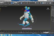 3DS MAX / Modelling, Rigging, and Ekspression