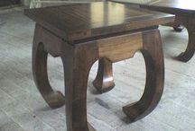 stoly / stoly z masívu