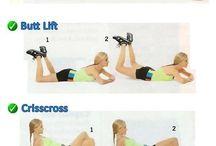 ejercicios, glúteos