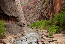 #52HikeChallenge Tour Utah / The #52HikeChallenge will be visiting and hiking at the following places: Zion and Moab.
