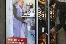 Vending / Dünya'dan otomat makineleri ile farklı uygulamalar.