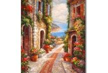 Mediterranean paintings