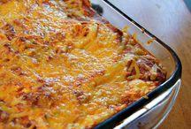 Pasta Dishes / by Kathleen Hinton Thompson