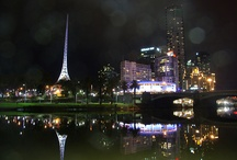 Melbourne @ Night / by Mike Hauser