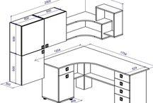 чертежи мебели
