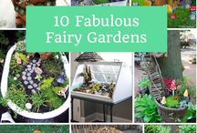 Gabriella's fairy garden
