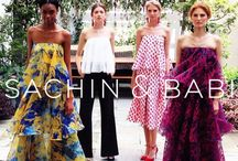 #NYFW: Sachin & Babi S/S 2016 / NU EVOLUTION was the Beauty Sponsor of Sachin & Babi's Spring/Summer Show at New York Fashion Week! Find out more about the designer at http://www.sachinandbabi.com/