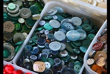 Buttons Galore: Buttons, Buttons, Buttons / Cool collections of buttons from all over. / by Buttons Galore and More