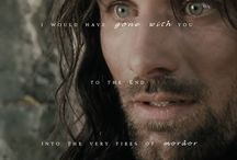 lord of the rings quote / by Katie Fourez
