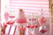 pretty in pink buffet