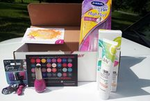 Sunkissed Voxbox / Pictures from my experiences with the products found in my Sunkissed Voxbox:  1.  Dr. Scholl's For Her High Heel Insoles 2.  Goody Hair 3.  Olay Fresh Effects BB Cream 4.  Sinful Colors Sinful Shine (nail colors)
