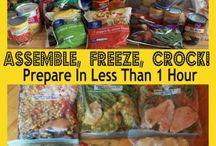 Crockpot & Freezer meals