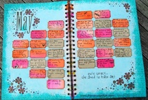 journal - to do list - to be list