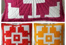 Mihaela Alexandrescu's patterns / Objects made using patterns made by Mihaela Alexandrescu