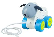 Push and Pull / A classic - whether pushing or pulling, these pet pals will be with you wherever you. More @ www.woodandwonder.co.uk
