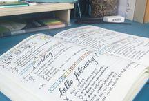 Bullet Journal / A look inside some beautiful bullet journals!