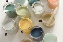 Paint Colors for Home / by Mabelle R.O @ Whimsy and Stars Studio