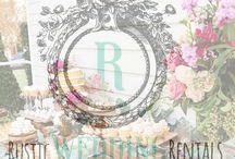 Rustic Wedding Rentals