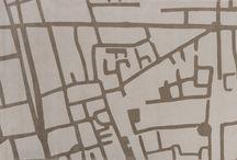 Coleção GRID / 5 maiores distritos de design by Fabio Bouillet e Rodrigo Jorge.