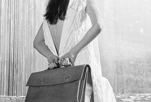 Leather bags by Reka Tihanyi