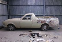 Holden Belmont utility / full resto of bodywork with only minimal rust repairs needed