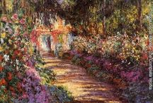 Claude Monet -  the garden