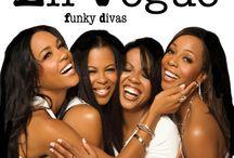 Funky Divas / Cd-levyn kannet