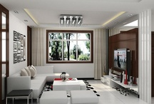 Interior_ Living Room / by Isra Ayyasrah