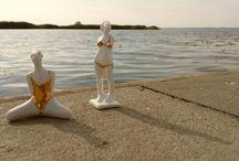 Porcelanowe figurki / Porcelain figurine
