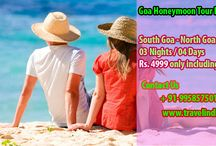 Goa Honeymoon Tour Package / Goa is the amazing destination in India for Honeymoon, we provide the best services to Gao like train tickets, flights, hotels, road transports and more.