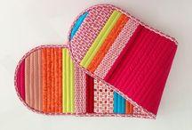 Handmade / patchwork, diverse obiecte lucrate manual