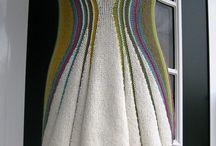 вязанные платья для вдохновения