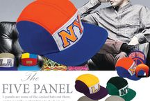 5 PANEL HATS CP1857 / FIVE PANEL CAP