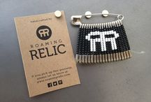 Roaming Relic Geoswag / A collection of geoswag made by Roaming Relic.