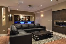 Basement/Mancave / by Taylor Bowles
