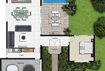 Houses + Floor Plan