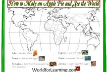 FIAR:  How to Make an Apple Pie / Ideas and information for the study of the book How to Make an Apple Pie and See the World