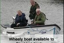 Fishing with a disability