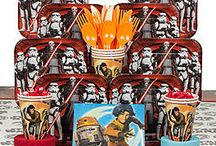Star Wars Party Ideas / It's hard not to be a fan of the Star Wars franchise so we're here to help you through the perfect Star Wars party!