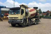 European Concrete Mixer Trucks (1) / When it comes about Building Construction,a Concrete Mixer Truck,is a indispensable tool in nowadays.